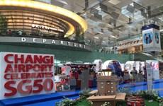 Sân bay Changi trưng bày 50 biểu tượng chào đón du khách