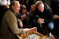 """[Photo] Những món quà sinh nhật """"bốn chân"""" của Tổng thống Putin"""