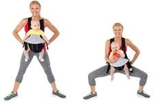 """Những bài tập thể dục giảm cân kỳ diệu cho bà mẹ """"bỉm sữa"""""""