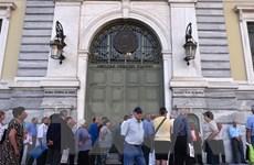 ESM giải ngân 2,95 tỷ USD tái cơ cấu cho Ngân hàng Quốc gia Hy Lạp