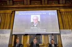 Thụy Điển long trọng tổ chức Lễ trao giải Nobel 2015 ở Stockholm