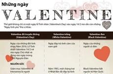 [Infographics] Những ngày Valentine mà không phải ai cũng biết