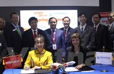 Vietjet ký hợp đồng có giá trị lớn nhất tại Air Show 2016