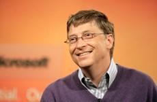 Bill Gates vẫn dẫn đầu danh sách những người giàu nhất thế giới