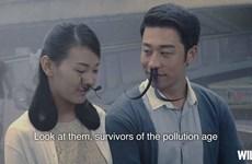 [Photo] Chống ô nhiễm bằng hình ảnh... lông mũi dài thượt