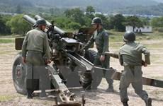 [Video] Hàn Quốc tập trận bắn đạn thật gần biên giới Triều Tiên