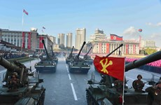 [Photo] Những bức ảnh phô diễn sức mạnh quân sự Triều Tiên