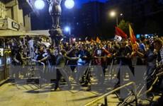 Biểu tình phản đối chính phủ ở Macedonia bước sang tuần thứ 2