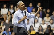 """[Video] Tổng thống Obama beatbox """"đấu khẩu"""" với rapper Suboi"""