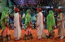 [Photo] Đám cưới xúc động nhất Ấn Độ lấy nước mắt người xem