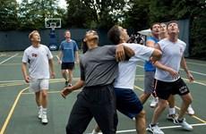 [Photo] Những hình ảnh rất đời thường về Tổng thống Mỹ Barack Obama
