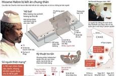 [Infographics] Cựu Tổng thống Hissene Habre bị kết án tù chung thân