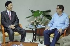 Ngoại trưởng Cuba và Hàn Quốc có cuộc gặp đầu tiên trong nhiều thập kỷ