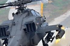 Máy bay trực thăng quân sự UAE rơi, 2 phi công tử nạn