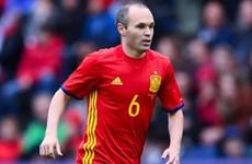 Người hùng thầm lặng Andres Iniesta của đội tuyển Tây Ban Nha