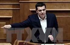 Hy Lạp trích tiền hỗ trợ từ Eurozone để thanh toán nợ cho ECB