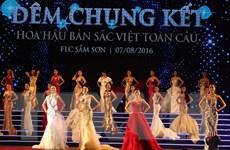 [Photo] Nữ sinh Hải Phòng đăng quang Hoa hậu Bản sắc Việt toàn cầu