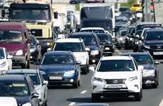 """Nga tổ chức """"Ngày không ôtô"""" nhằm kêu gọi bảo vệ môi trường"""