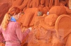 Công viên tượng cát tại Bình Thuận - Thế giới những câu chuyện cổ tích