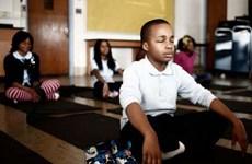 Dạy thiền trong trường học giúp giảm học sinh cá biệt