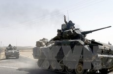 """Thổ Nhĩ Kỳ tiếp tục thúc đẩy chiến dịch """"Lá chắn sông Euphrates"""""""