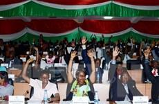Quốc hội Burundi bỏ phiếu thông qua quyết định rút khỏi ICC