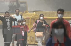 New Delhi ô nhiễm không khí, hơn 1 triệu học sinh Ấn Độ tạm nghỉ học