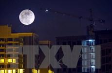 [Photo] Sững sờ với siêu trăng lớn nhất 100 năm qua tại Hà Nội