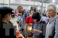 Thí sinh nước ngoài đoạt giải quán quân cuộc thi nấu ăn ở Việt Nam