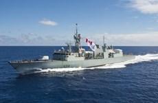 Tàu Hải quân Hoàng gia Canada lần đầu thăm Cuba trong 50 năm qua