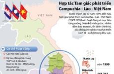 [Infographics] Hợp tác Tam giác phát triển Campuchia-Lào-Việt Nam