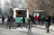 Tổng thống Erdogan cáo buộc PKK đứng sau vụ đánh bom xe chở binh sỹ