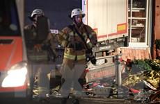 [Video] Hiện trường tấn công bằng xe tải tại chợ Giáng sinh ở Berlin