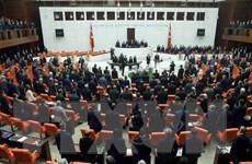 Thổ Nhĩ Kỳ tiến hành bỏ phiếu vòng đầu tiên về gói sửa đổi hiến pháp