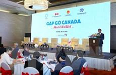 Việt Nam-Canada tăng cường hợp tác hiệu quả, thực chất và bền vững