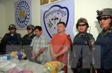 Campuchia bắt giữ trên 2.500 nghi phạm liên quan ma túy trong 1 tháng