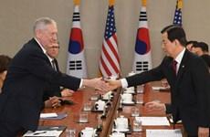 Mỹ và Hàn Quốc tiến hành đối thoại cấp Bộ trưởng Quốc phòng