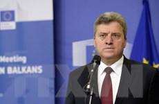 EU hối thúc Tổng thống Macedonia mở đường thành lập chính phủ mới
