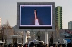EU lên án hành động Triều Tiên phóng 4 quả tên lửa đạn đạo