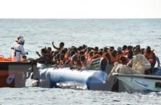 Hải quân Libya giải cứu hơn 400 người di cư lênh đênh ngoài khơi