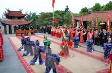 [Video] Tái hiện lễ rước kiệu nghìn năm tuổi tại Đền Hùng