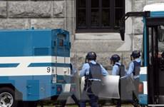 Nhật Bản bắt một số nghi phạm vụ cướp vali chứa hàng triệu USD