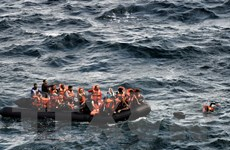 Ít nhất 8 người tị nạn thiệt mạng trong vụ chìm tàu ngoài khơi Hy Lạp