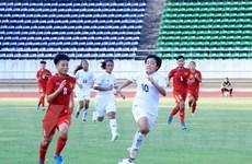 Giải bóng đá nữ Đông Nam Á: U15 Việt Nam thua ngay trong trận đầu