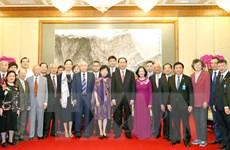 Chủ tịch nước Trần Đại Quang tiếp các nhân sỹ Trung Quốc
