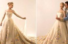 Chiêm ngưỡng bộ váy cưới đẹp lung linh của cô nàng Lọ Lem