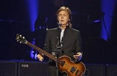 Paul McCartney thể hiện lại ca khúc hit của The Beatles tại Nhật Bản