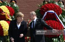 [Video] Thủ tướng Đức Angela Merkel tới Nga kỷ niệm Ngày Chiến Thắng