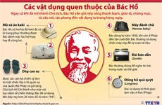 [Infographics] Các vật dụng quen thuộc trong cuộc sống của Bác Hồ