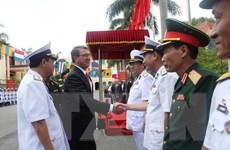 [Photo] Bộ trưởng Quốc phòng Mỹ Ashton Carter tới thăm Việt Nam